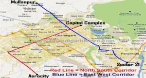 Chandigarh-Metro-Map