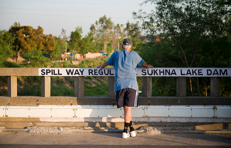 sukhna-lake-dam