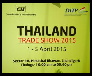 Thailand Trade Show Chandigarh 2015