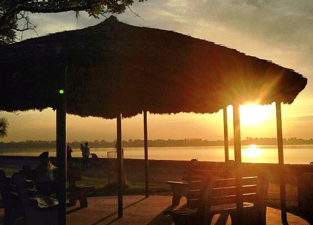 sukhna-lake-sunset