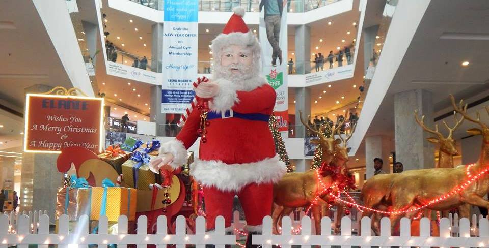 elante-mall-chandigarh-christmas-2014
