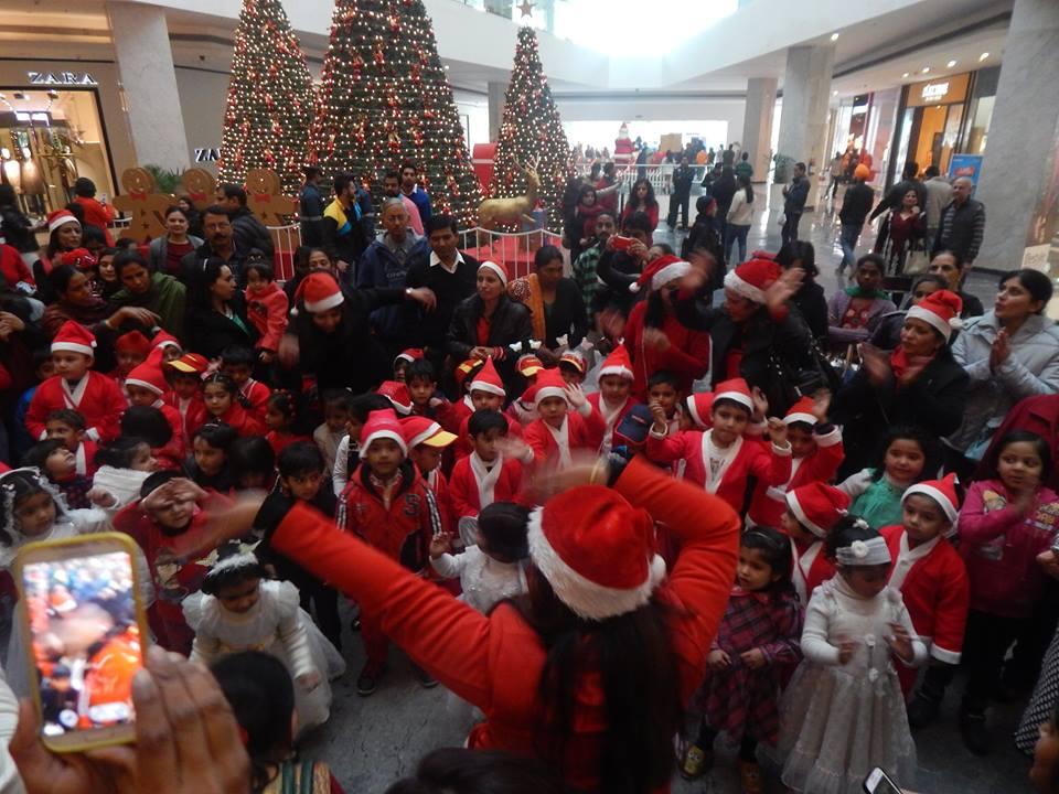 christmas-elante-mall-chandigarh