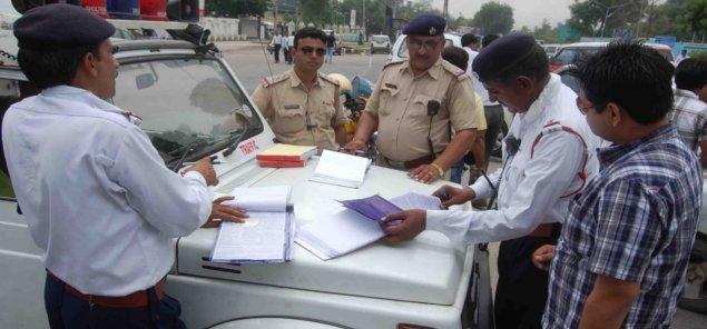 Image result for punjab police fine challan