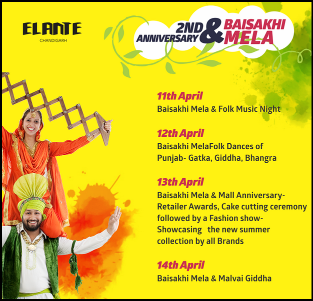 elante-mall-chandigarh-2nd-anniversary-baisakhi