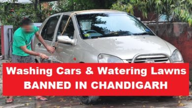 car-washing-chandigarh-banned