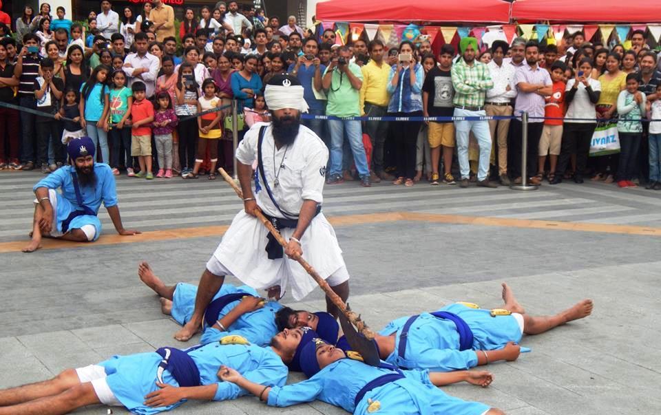 elante-mall-chandigarh-baisakhi-gatka