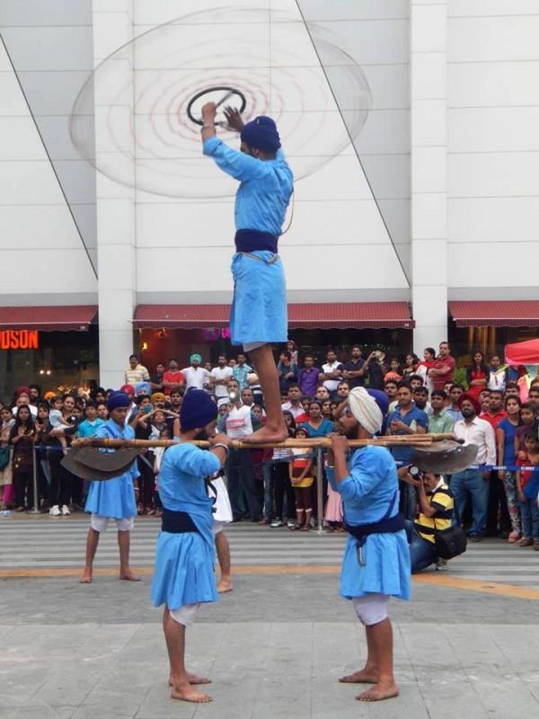 gatka-elente-mall-chandigarh-baisakhi