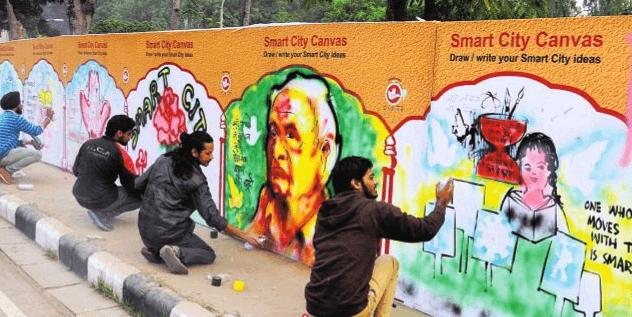 chandigarh-smart-city-canvas-wall