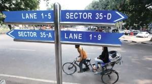 chandigarh-lane-system