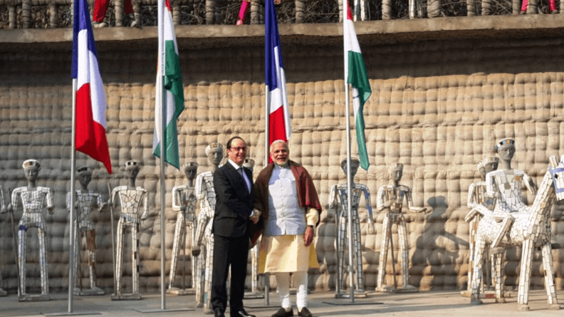 chandigarh-france-president-holande-visit-narendra-modi