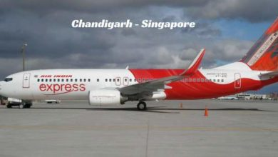 Chandigarh-Singapore-flight