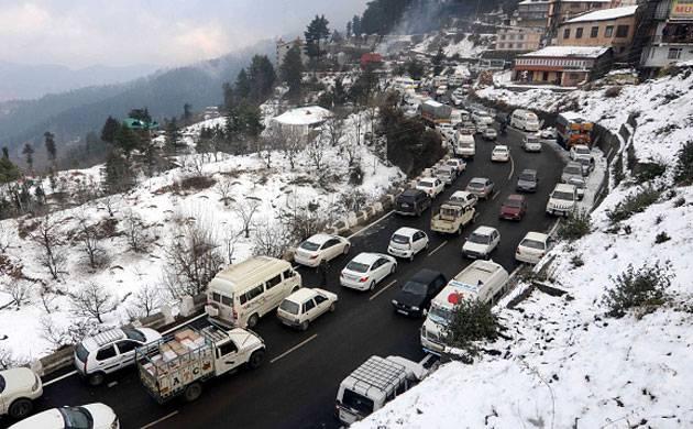 shimla-snow-road