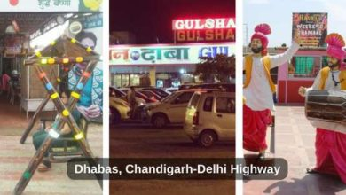 Dhabas -chandigarh-delhi
