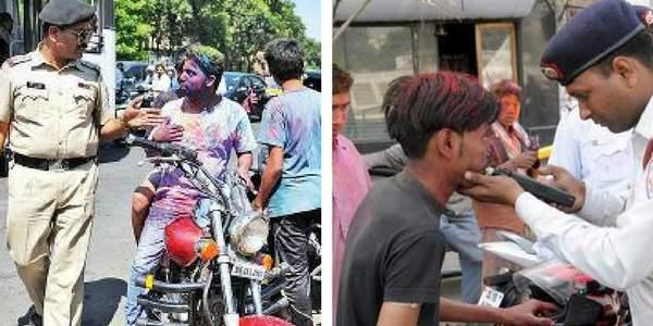 holi-chandigarh-police