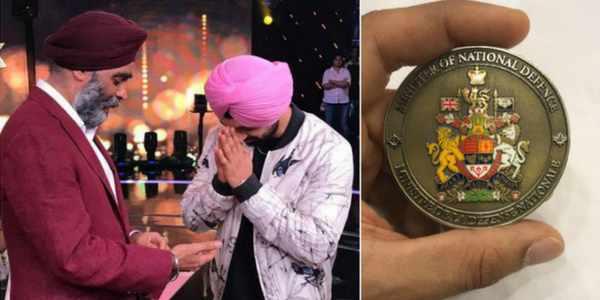 diljit-honor-medal