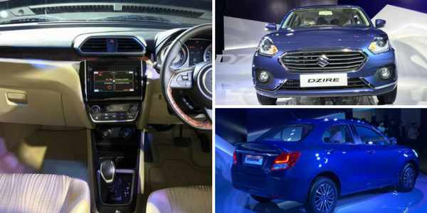 Maruti Suzuki Dzire 2017 Launched In India