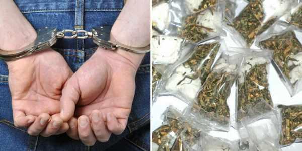 ganja-105-arrested