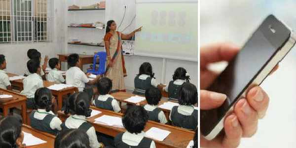 Image result for Teachers in Haryana barred from using mobile phones in govt schools