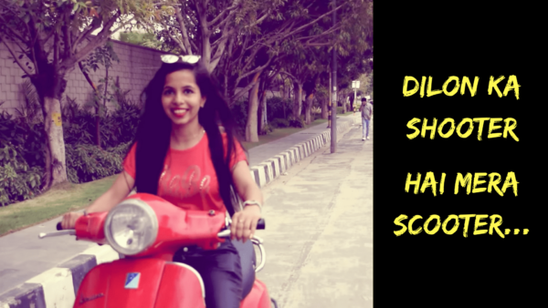 Dhinchak-Pooja-New-Song-scooter