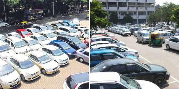 chandigarh-parking-woman