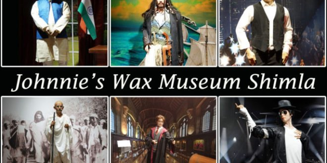 johnnie's-wax-museum-shimla