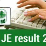 ssc-je-result