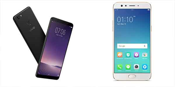 vivo-v7-vs-oppo-f3-feature-price-software-specs-comparison