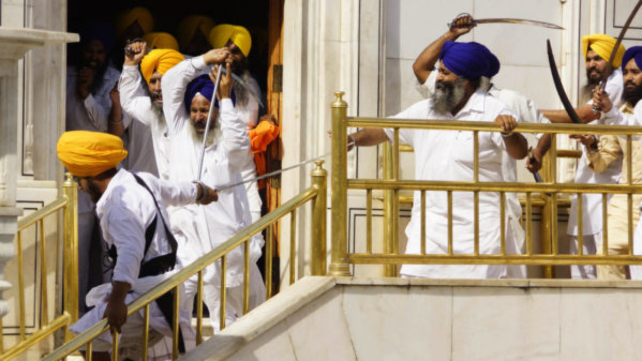 Punjab | Sikh Groups Clash Inside Golden Temple Complex