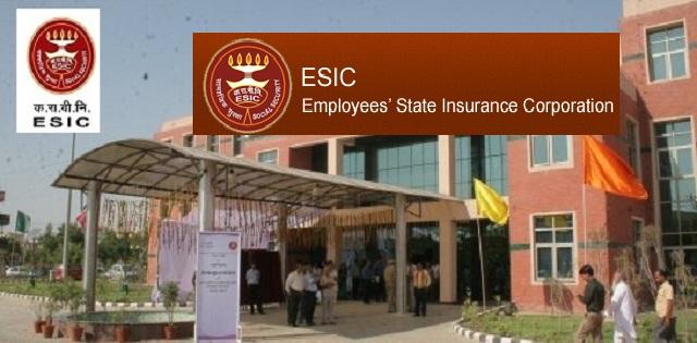 ESIC Recruitment 2019 For Stenographer & Upper Division Clerk