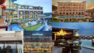 Top 5 hotels in Panchkula, KC Cross Road, The Cove, Western Court, Golden Tulip, Bella Vista Hotel