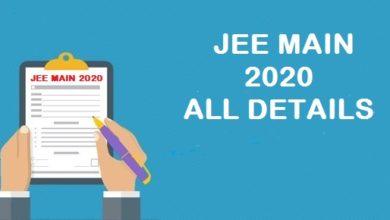 JEE-MAIN-2020